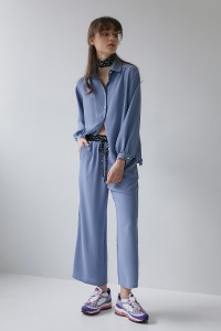 Banding pants[Blue]